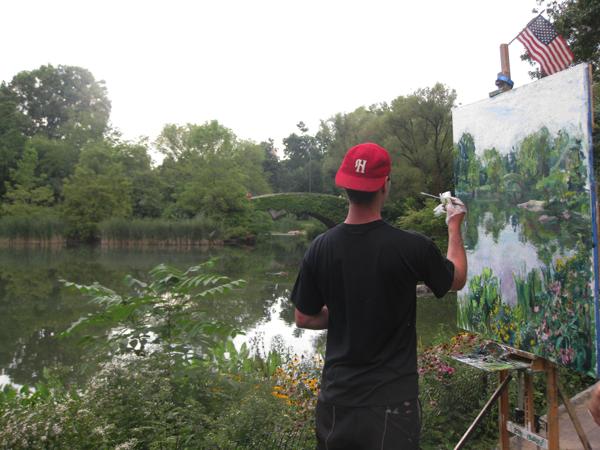 Street Artist in Central Park