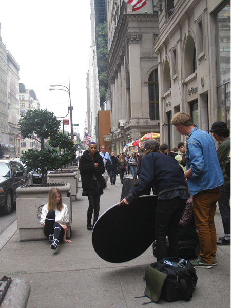 Models on 5th Ave